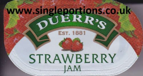 DUERR'S - STRAWBERRY jam - Past BBE